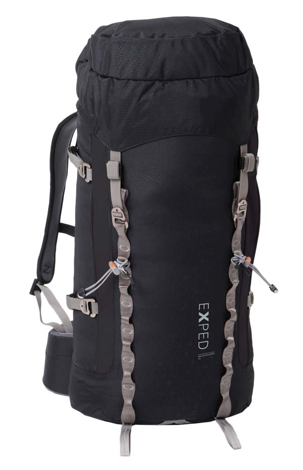 Exped Backcountry 45 black M