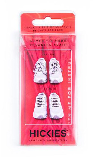 infrared - Hickies Elastic Laces