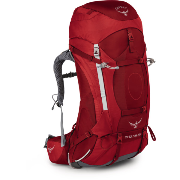 Osprey Ariel AG 55 Women picante red M