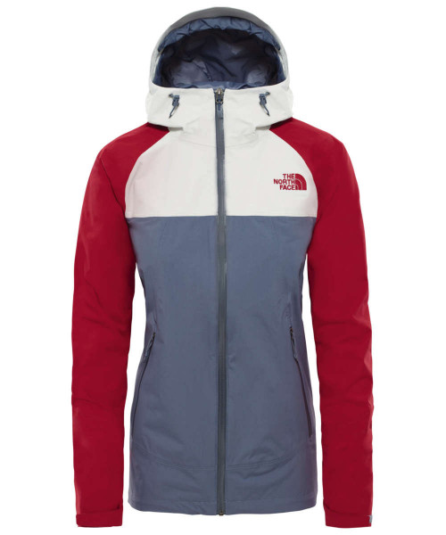 grisllegrey/tingrey/rumbred - The North Face W Stratos Jacket