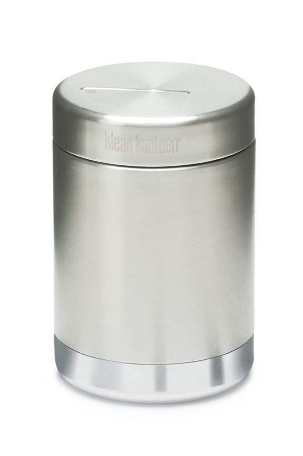 Klean Kanteen Food Canister Vacuum Insulated mit Edelstahldeckel 473 ml brushed