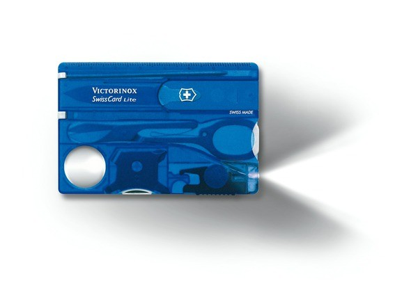 saphir transparent - Victorinox SwissCard Lite