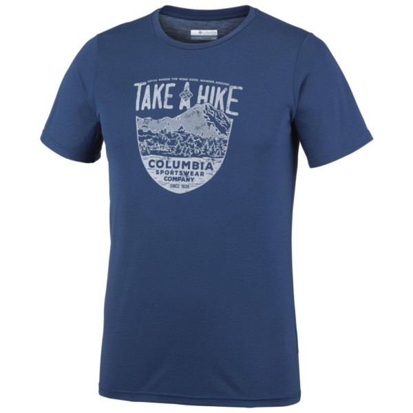 carbon - Columbia Laney Hill Short Sleeve Tee