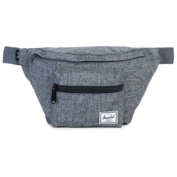 raven crosshatch - Herschel Seventeen Hüfttasche