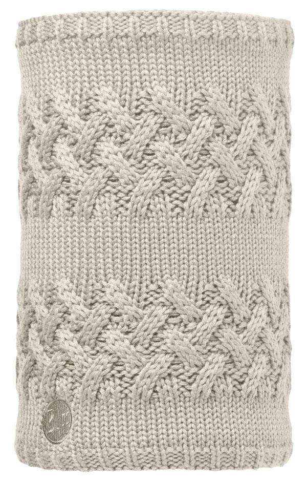 Buff Lifestyle Knitted und Polar Fleece Neckwarmer Savva cream