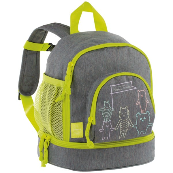 About friends mélange grey - Lässig 4Kids Mini Backpack