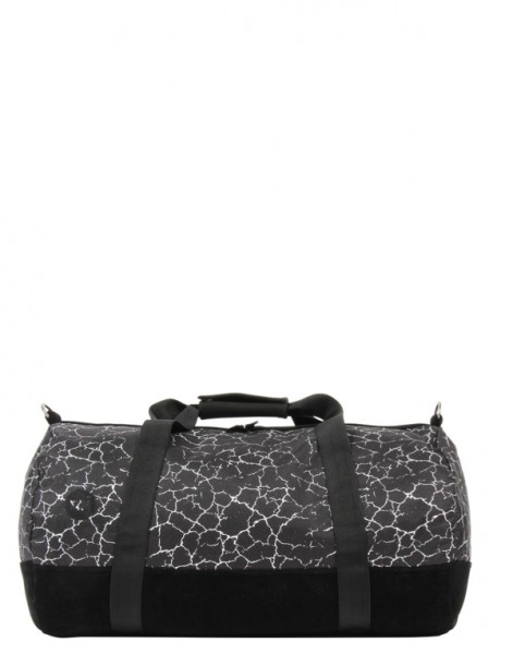 black-silver - Mi-Pac Duffel Cracked