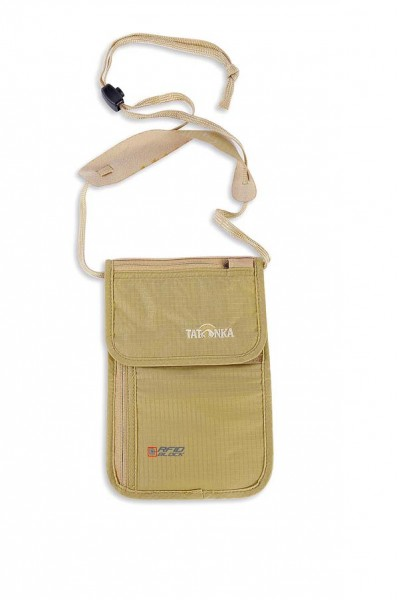 natural - Tatonka Skin Neck Pouch RFID B