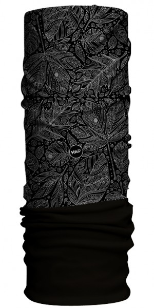 autuno black - Fleece black - HAD Winter Fleece Multifunktionstuch