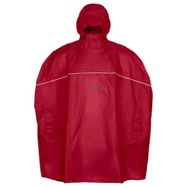 indian red - Vaude Kids Grody Poncho