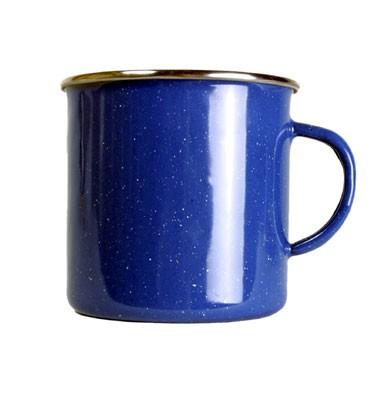 blau - Relags Emaille Tasse 360 ml