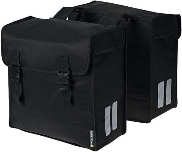 - Basil Mara XXXL Doppeltasche schwarz