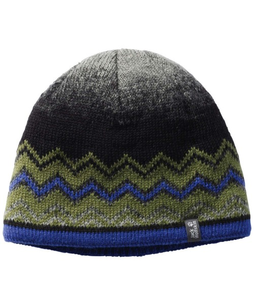 cypress green - Jack Wolfskin Colorfloat Knit Cap Kids