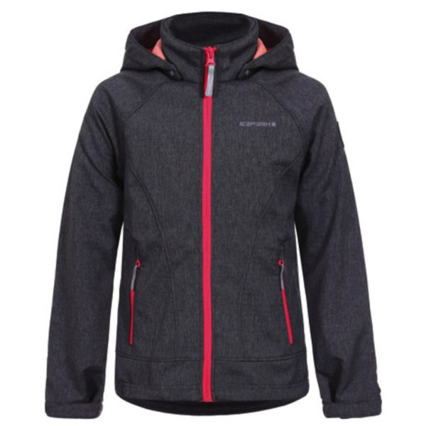 lead-grey - Icepeak Triine Jr. Softshell Jacket