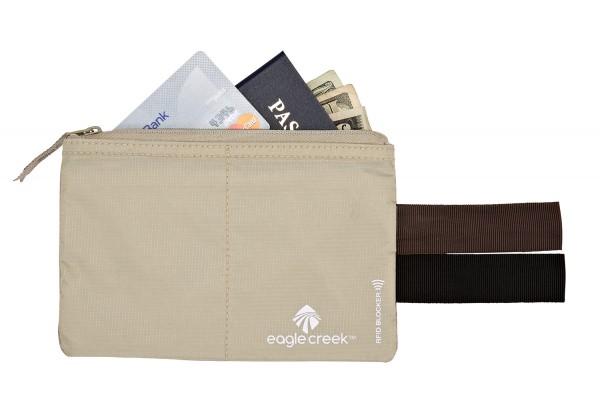 - Eagle Creek RFID Blocker Hidden Pocket tan