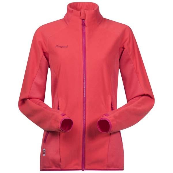 strawberrybougainvillea - Bergans Cecilie Fleece Jacket