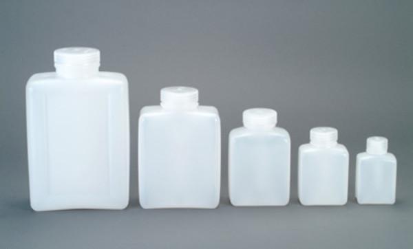Nalgene Weithalsflaschen, rechteckig