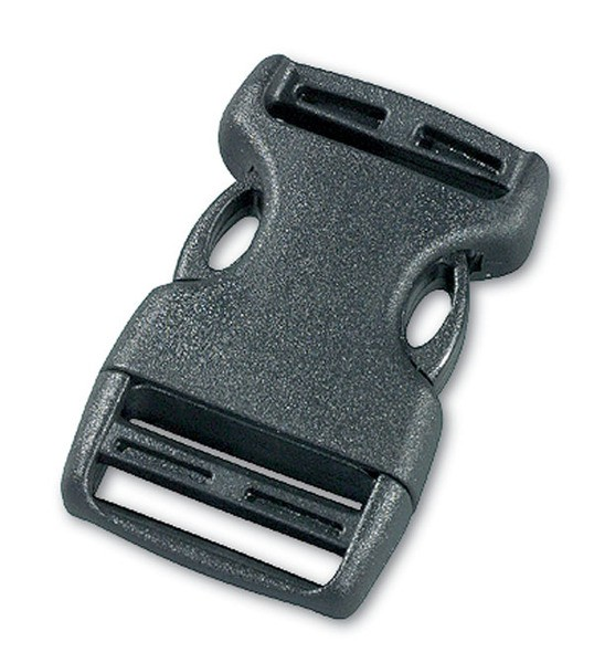 Tatonka SR-Buckle 25mm Paar black