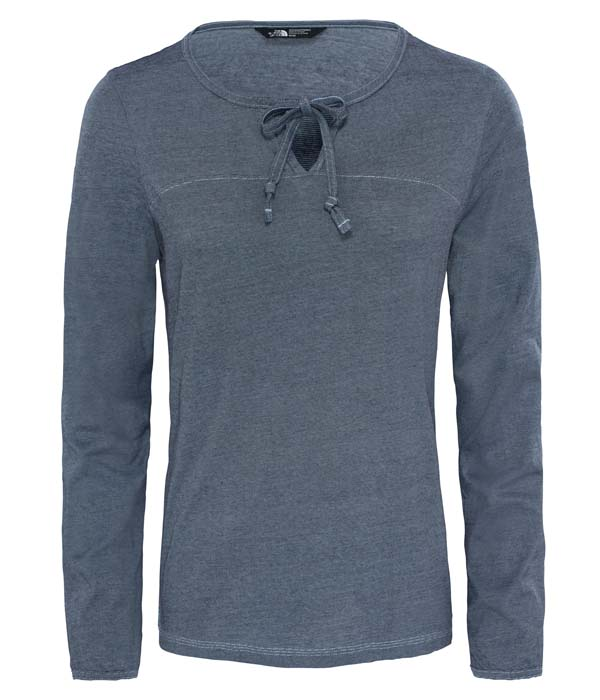 The North Face W Dayspring L/S Tee urban navy/chambray blue XL