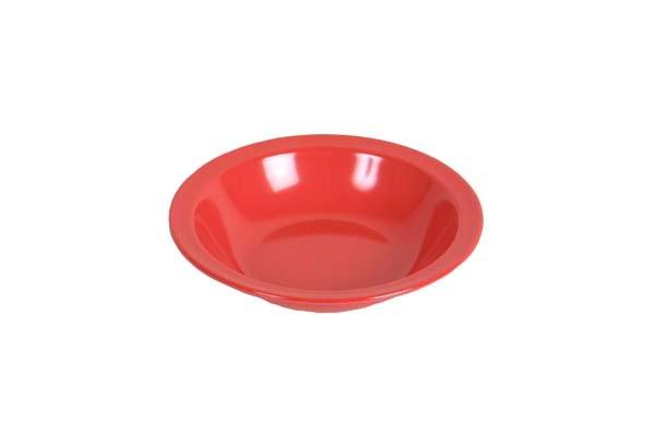 rot - Waca Melamin Teller tief, Durchmesser 20,5 cm