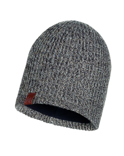 brown taupe - Buff Knitted und Polar Fleece Hat Lyne
