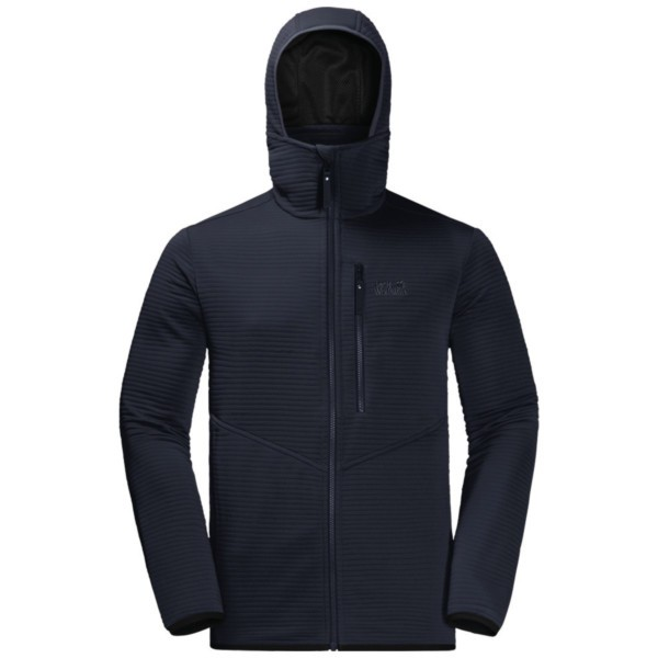 night blue - Jack Wolfskin Modesto Hooded Jacket Men