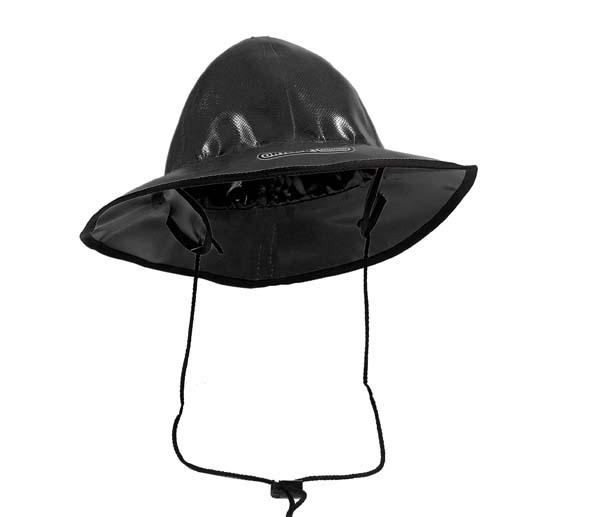 Ortlieb Regenhut schwarz