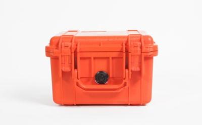 - Pelibox 1300 orange, mit Schaumeinsatz