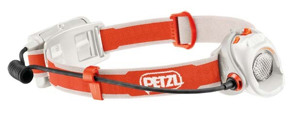 - Petzl Myo orange-weiß
