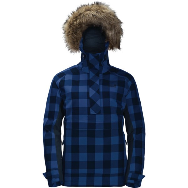 midnight blue checks - Jack Wolfskin Timberwolf Women