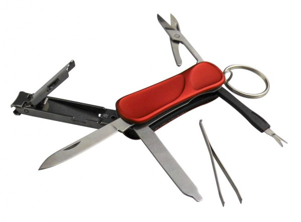 Munkees Maniküre Multi-Tool mit 6 Funktionen