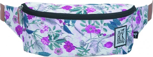 pink botanical allover - The Pack Society Bum Bag Cool Prints