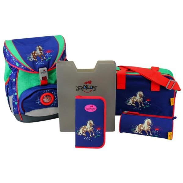 DerDieDas Ergoflex 5-teiliges Set happy pony