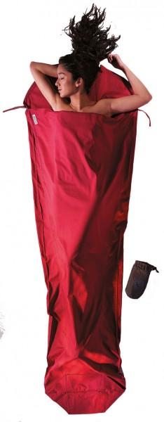 monks red - Cocoon Mummy Liner Baumwolle