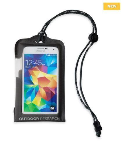 charcoal - Outdoor Research SensorDry Pocket Smartphone Standard