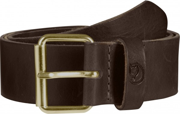 leather brown - Fjällräven Singi Belt 4 cm