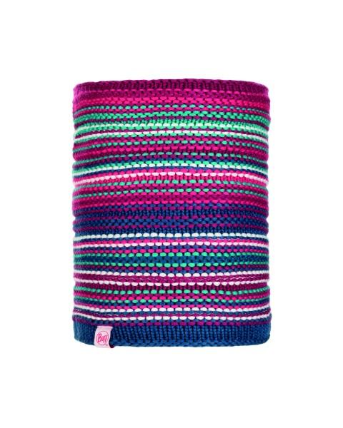 pink cerisse - Buff Knitted und Polar Fleece Neckwarmer Amity Junior
