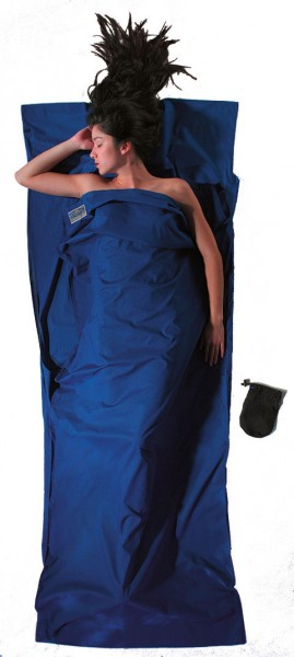 ultramarine blue - Cocoon Travel Sheet Baumwolle