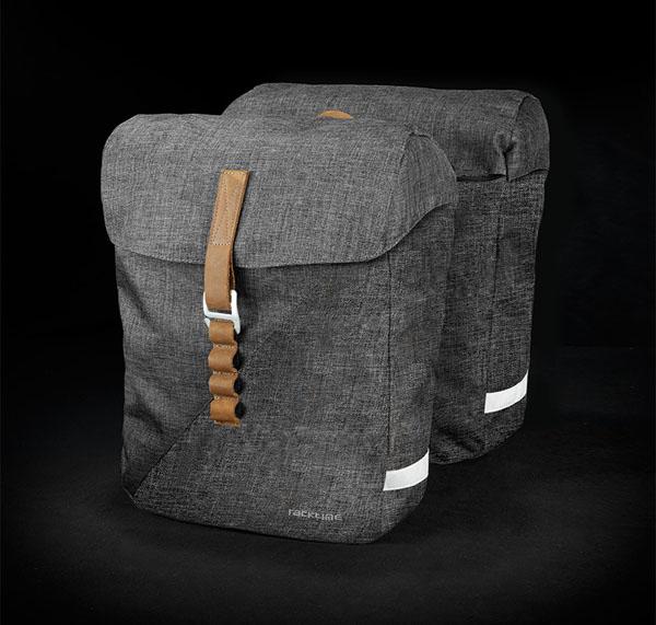 Racktime Heda Doppeltasche desert sand/dust grey
