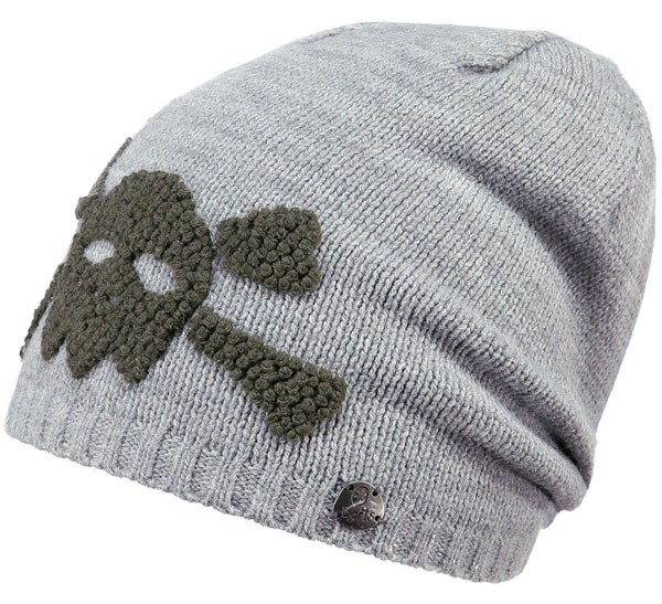 heather grey - Barts Baddy Beanie