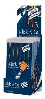 Barth Klick and Go Bandlstopper Neon fest mit Klickverschluß