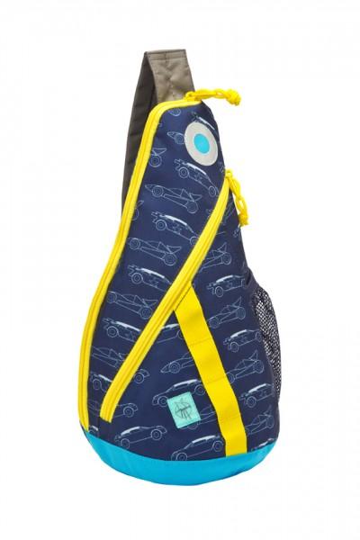 cars navy - Lässig 4Kids Mini Sling Bag