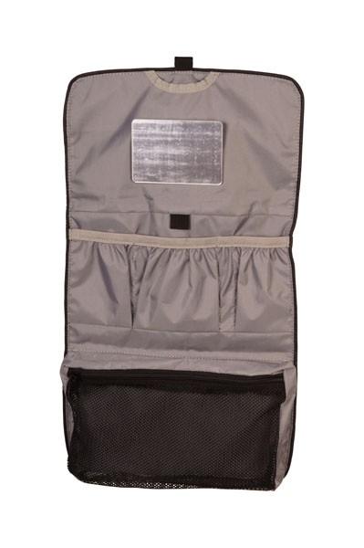 Innenansicht black - grey - Elkline wäschtäsch