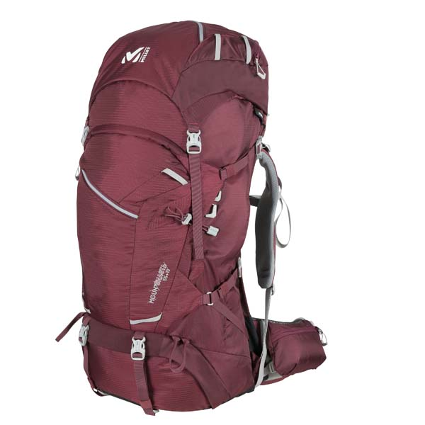 Millet Mount Shasta 55+10LD burgundy