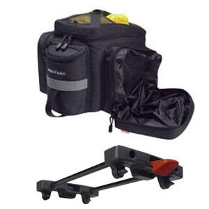 KLICKfix Rackpack 2 Plus mit KLICKfix Racktimeadapter