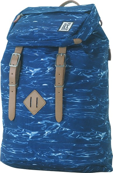 blue waves allover - The Pack Society Premium Backpack Cool Prints