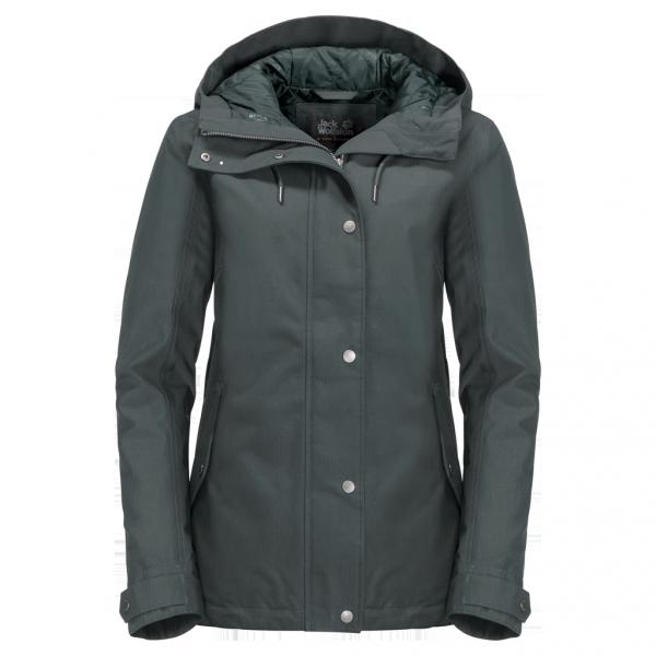 greenish grey - Jack Wolfskin Mora Jacket