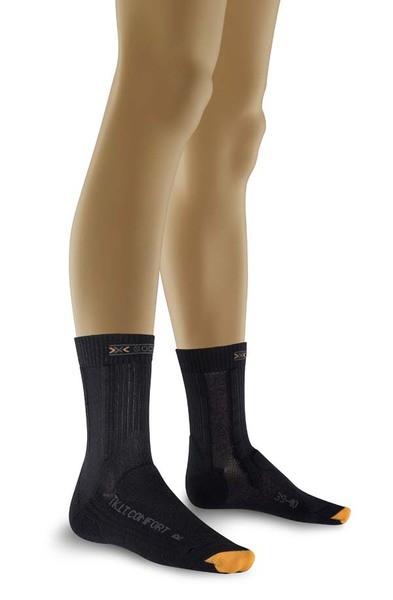charcoal/antracite - X-Socks Trekking Light Comfort Lady