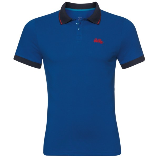 energy blue - Odlo Men Nikko Polo S/S