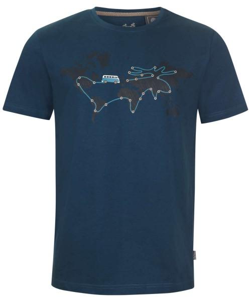 legionblue - Elkline reisebus Herren VW T-shirt